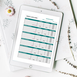 The Business Budget Worksheets allow you to track all of the critical information you need to know for your small business. All five worksheets are offered in Excel format, which allows you to customize each worksheet for your unique business needs.