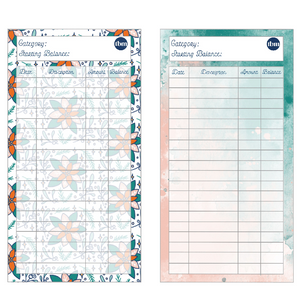 Holiday-Theme Spending Trackers (PRINTABLE)