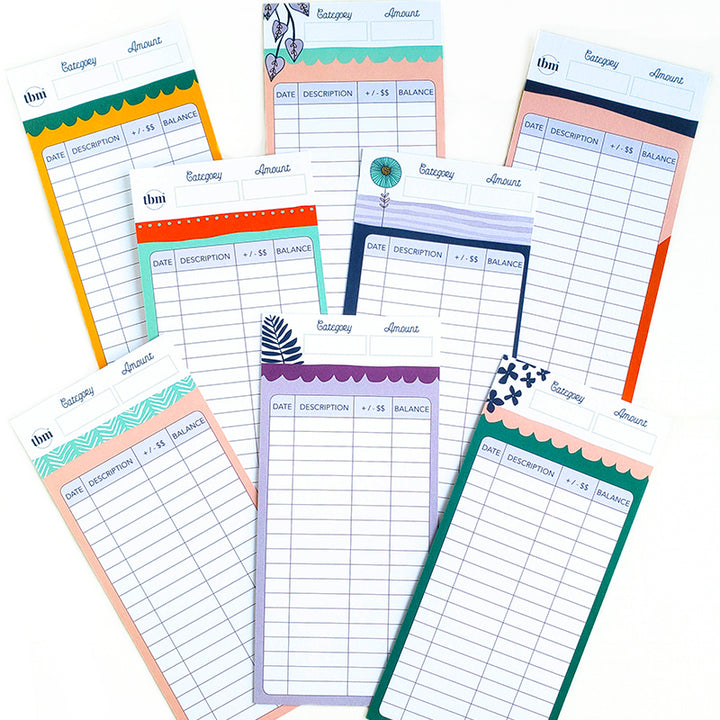 Botanical Cash Envelope Spending Tracker Set