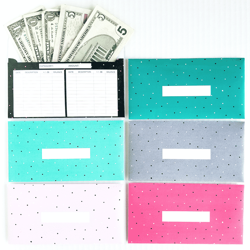 graphic about Cash Envelope Printable identify Noticed Design and style Horizontal Hard cash Envelopes (Printable)