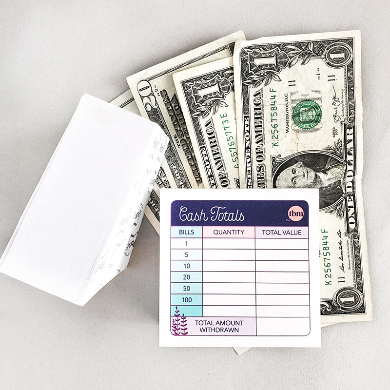 TBM Teller Slip Sticky Notes