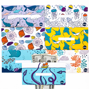 Under the Sea Horizontal Cash Envelopes (Printable)