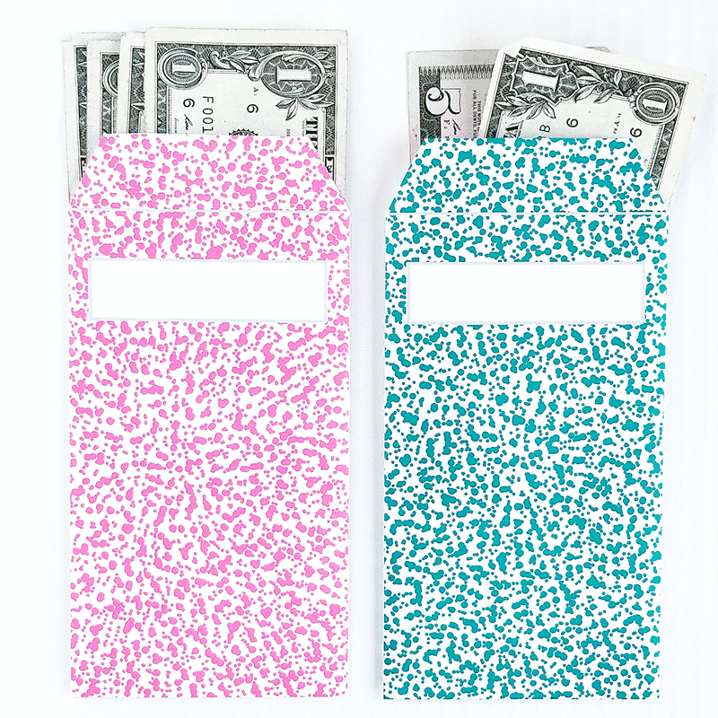graphic relating to Printable Money Envelope named Freckle Structure Vertical Revenue Envelopes (Printable)