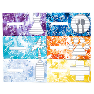Watercolor Sinking Funds Cash Envelopes With Trackers (Printable)