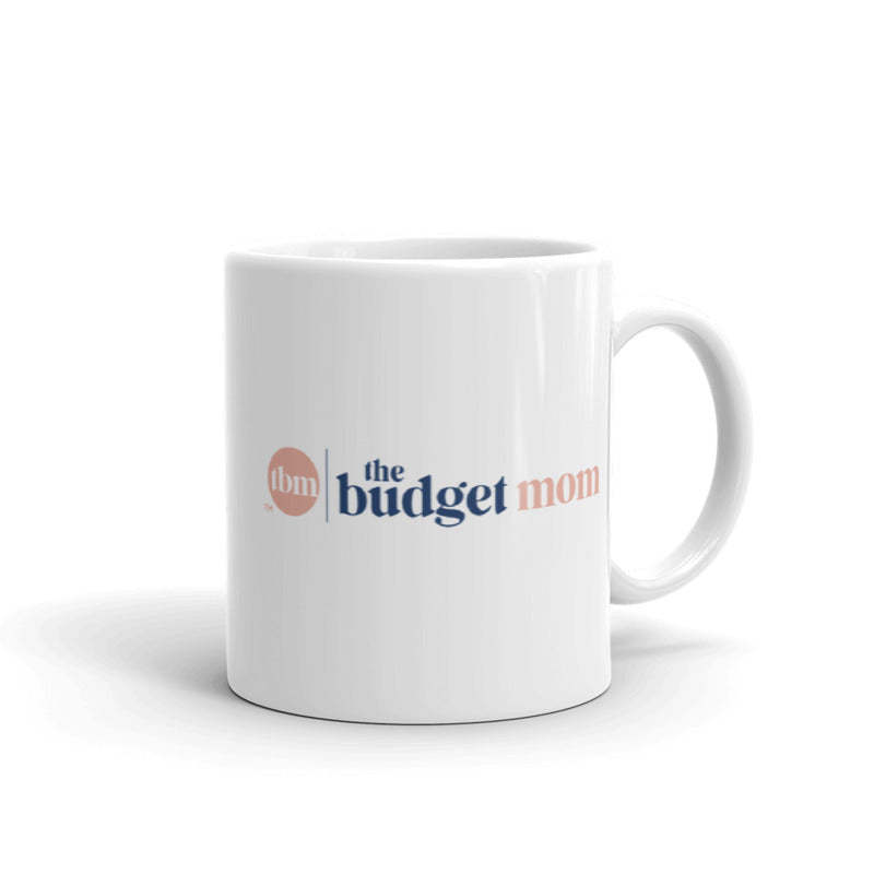 """The Budget Mom"" Ceramic Mug"