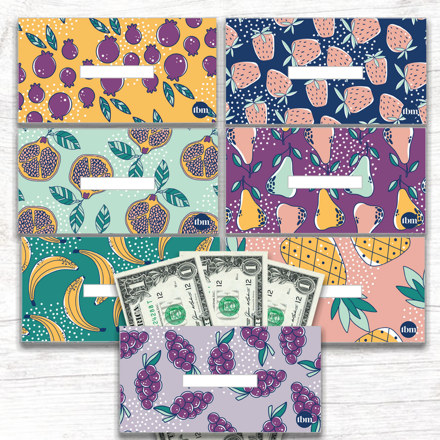 Fruit Horizontal Cash Envelopes (PRINTABLE)