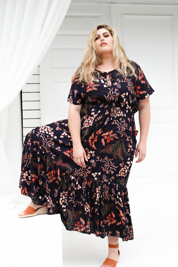 Tropical Maxi Dress // Woodland