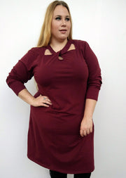 Lulu Dress // Oxblood