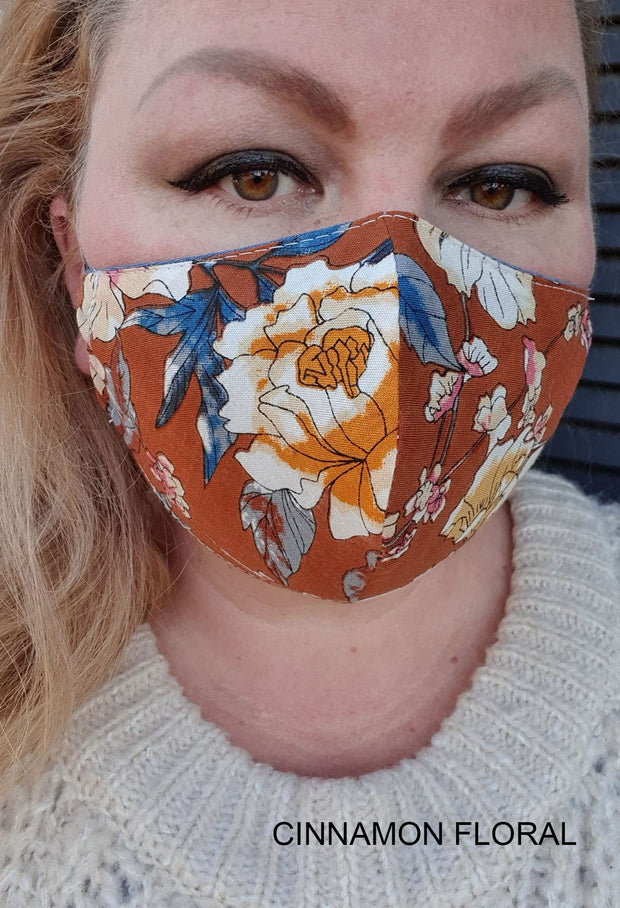 Face Mask - Buy 3 for $50- Custom Prints- Assorted Designs- Hand Made