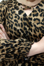 Load image into Gallery viewer, Isla Blouse // Leopard