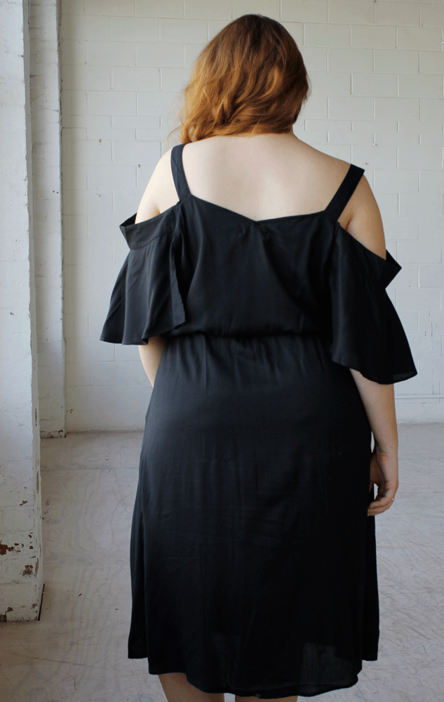 Lionheart Dress // Black