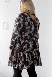 Renata Dress // Winter Rose