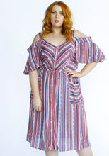 Load image into Gallery viewer, Lionheart Dress // Stripe