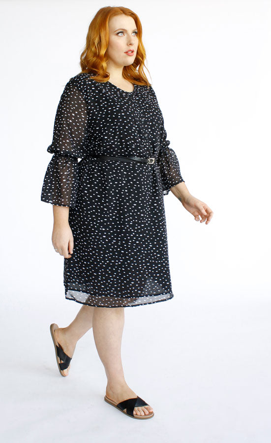 Tabitha Dress // Spot Print