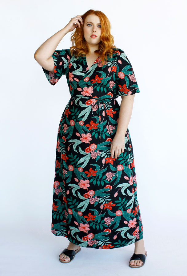 Hadley Maxi Wrap Dress // Jungle