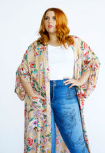 Load image into Gallery viewer, Kimono Duster // Butter Yellow