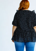 Load image into Gallery viewer, Sascha Blouse // Spot Print