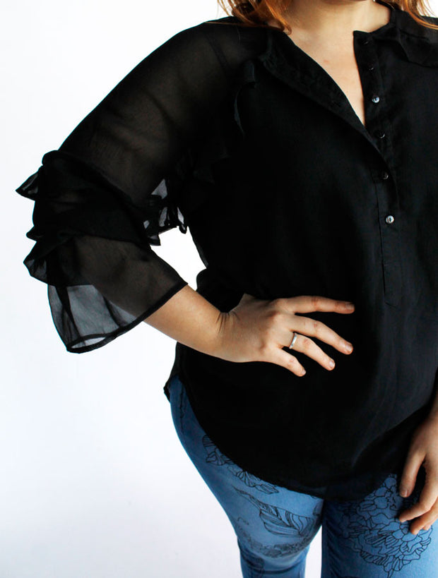New Haven Top // Black