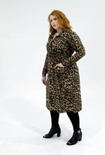 Load image into Gallery viewer, Milan Shirt Dress // Leopard