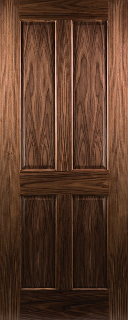 Seadec-Walnut-Walnut-Kingscourt-4-Panel-Door
