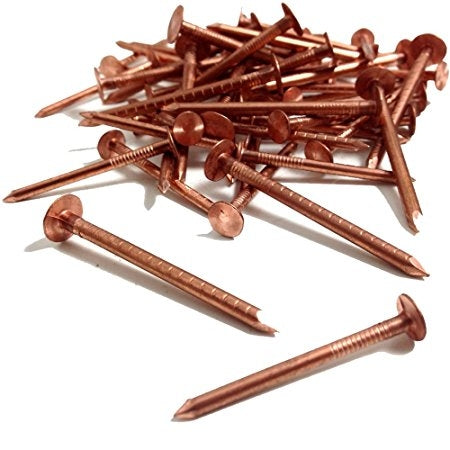 Copper Slate Nails 3.35 X 38mm