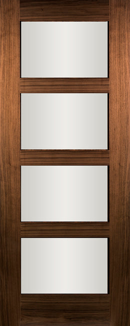 Seadec-Walnut-Columbus-Walnut-Clear-Door