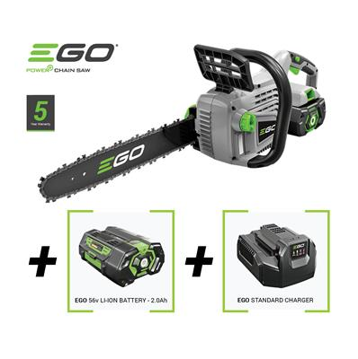 EGO CS1401E Chainsaw c/w 2.5Ah Battery & Charger