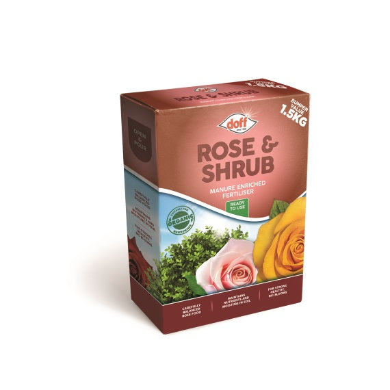 Rose & Shrub Feed – Enriched with Horse Manure