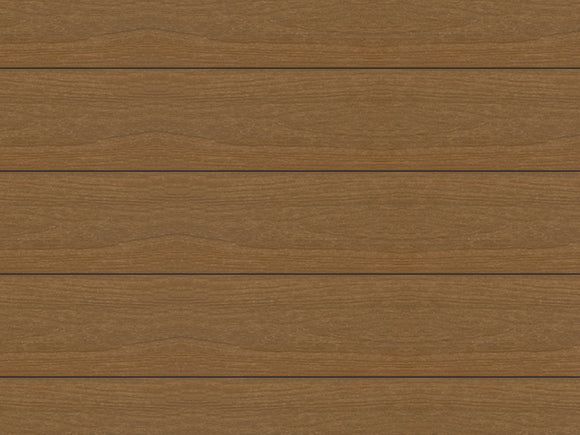 Ultrashield Hollow Composite Decking - Teak