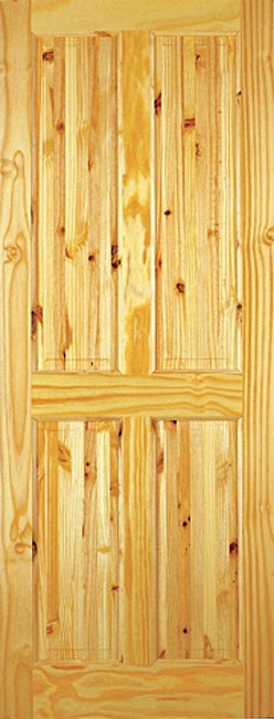 Indoors Ashford Pine Door 78X24X42mm 4 Panel