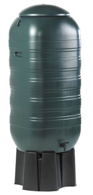 210 Litre Waterbutt With Stand, Tap & Fittings
