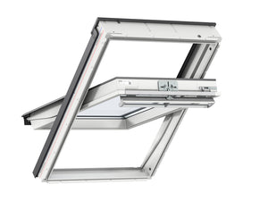 Velux White Pu Centre Pivot Roof Window - 55X98 cm