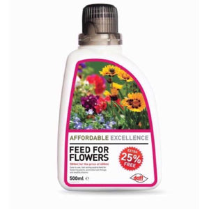 Doff Affordable Feed for Flowers