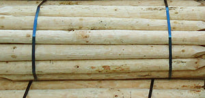 Peeled Fencing Heavy Posts