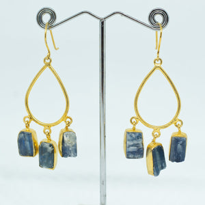 Hand Crafted Apatite Earrings - One Off Handmade - Beths Emporium