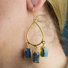 Load image into Gallery viewer, Hand Crafted Apatite Earrings - One Off Handmade - Beths Emporium