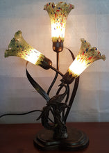 Load image into Gallery viewer, Leadlight Style Lamp - Athene Table Lamp - Beths Emporium