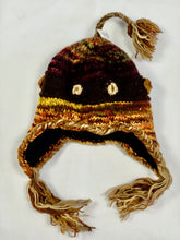 Load image into Gallery viewer, Hand Knitted Boho Beanie with Tassels in different colours - Beths Emporium