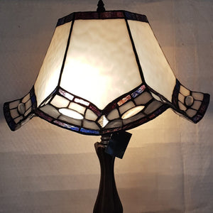 Leadlight Style Brighton Table Lamp - Beths Emporium