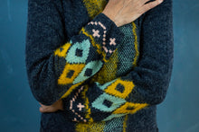 Load image into Gallery viewer, Cardigan - Long line Aztec Tassel - Beths Emporium