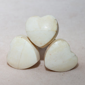 Hand Made Antique Ceramic Bone Door Drawer Knob - My Hearts Love - Beths Emporium