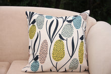 Load image into Gallery viewer, Banksias and Birds - Linen Cushion Cover - Beths Emporium