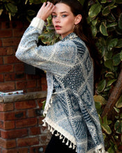 Load image into Gallery viewer, Chunky Knit Cardigan - Blue - Beths Emporium