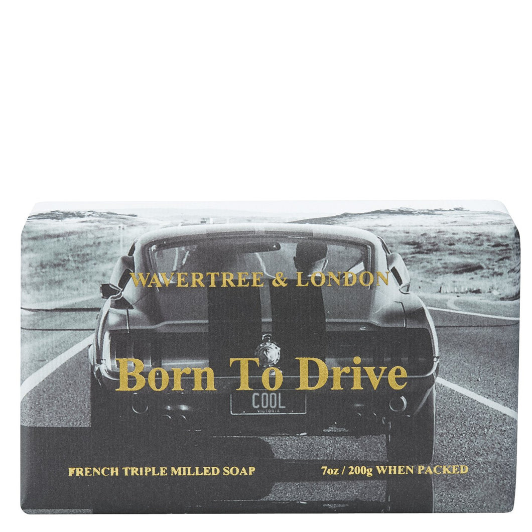 Wavertree & London 'Born to Drive' Soap - Beths Emporium