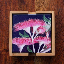 Load image into Gallery viewer, Set of Coasters - Red Flowering Gum - Australian Native - Beths Emporium