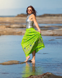 Embroidered Cotton Skirt - Fabulous Fun! - Avoca Collection