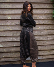Load image into Gallery viewer, Black & Silver Jeannie Boho Pants - Beths Emporium