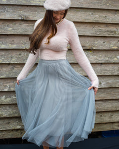 Grey Tulle Tutu Skirt - Beths Emporium