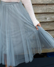 Load image into Gallery viewer, Grey Tulle Tutu Skirt - Beths Emporium