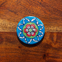 Load image into Gallery viewer, Coaster - Languid Lotus - Hand Painted. Colourful, Boho, Unique - Beths Emporium